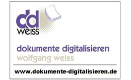 Dokumente Digitalisieren Wolfgang Weiss