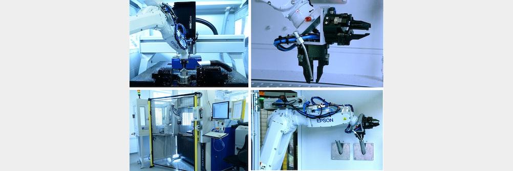 🥇Hocheffiziente Automatisierung zweier Hightech-Fräsmaschinen - Bilderbuch-Autom