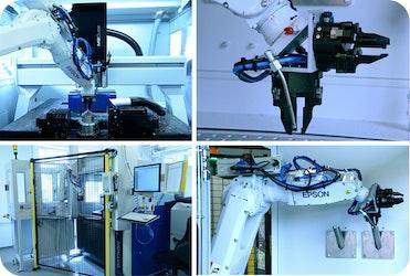 Hocheffiziente Automatisierung zweier Hightech-Fräsmaschinen - Bilderbuch-Autom
