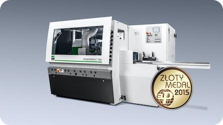 Der WEINIG Powermat 700 wurde mit einer Goldmedaille ausgezeichnet