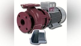 Kreiselpumpe für Abwasserfiltrationssysteme bei Wasserstrahlschneidanlagen