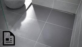 Poresta® Limit S 95 – bodengleiches Duschplatz-Design auch für die Renovierung