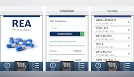Kostenlose PharmaScan App von REA für Codes