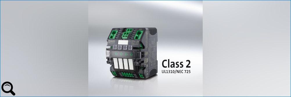 NEC-Class-2-Zulassung für elektronische Sicherung MICO