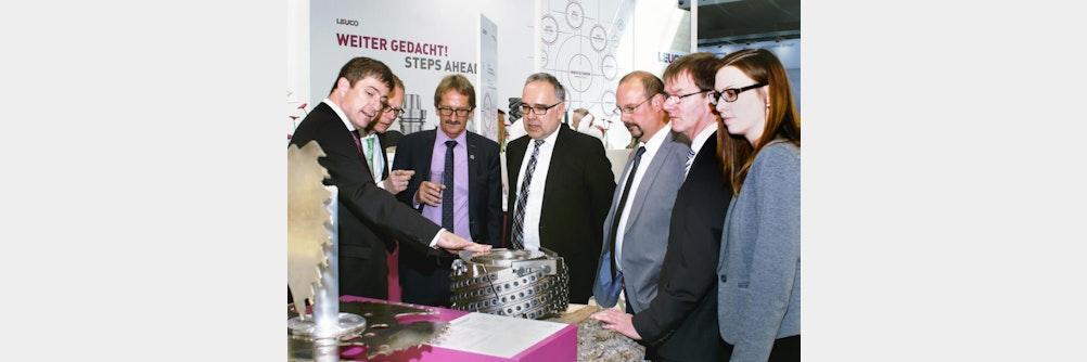 Wirtschaftsdelegation Region Nordschwarzwald auf LIGNA
