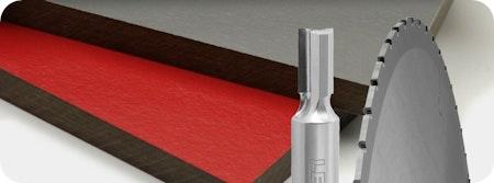 Lange Standwege und glatte Schnitte bei abrasiven Materialien