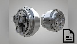 Kompakte Zykloidgetriebe für Werkzeugmaschinen