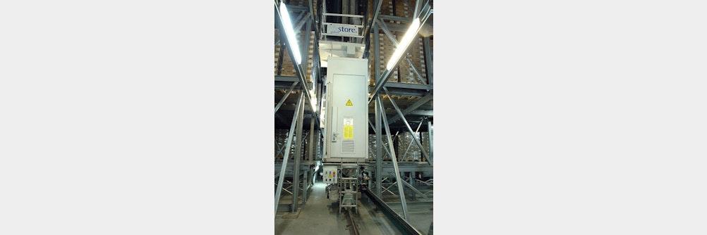 Automatisches Tiefkühllager von viastore sorgt für mehr Energieeffizienz und Pr