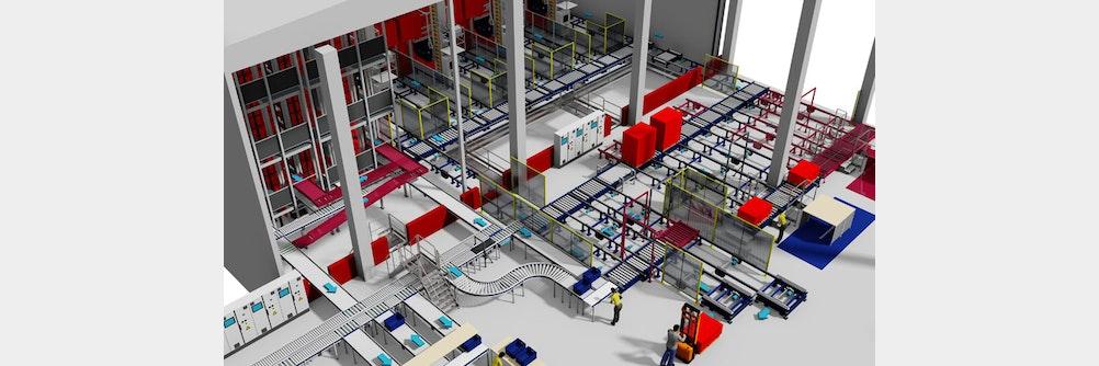 Ideale Vorraussetzungen für weiteres Wachstum: viastore realisiert neues Logist