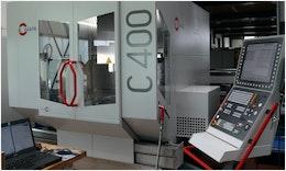 Hermle C 400 Bearbeitungszentrum zieht bei EGS ein