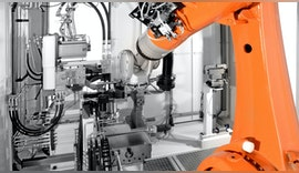 Industrierobotik im Maschinenbau