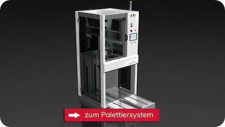 Palettiersystem für Reinräume