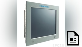 Panel PC VX-121F-N270-2G senkt durch Energieeffizienz Betriebskosten