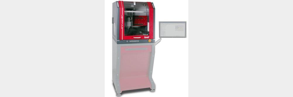 CNC-Fräsmaschine in Tischausführung - mit Servomotorantrieb