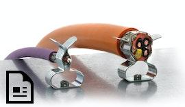 Neue EMV Multi-Schirmklammern für 3–18 mm Schirmdurchmesser