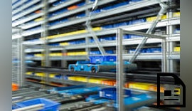 Automatisiertes Logistiksystem