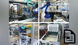 Spritzguss-Automation Herstellung eines Kunststoffhybridbauteils effizient und  zuverlässig automatisiert