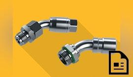 Bogen-Einschraubanschlüsse für optimale Durchflussraten