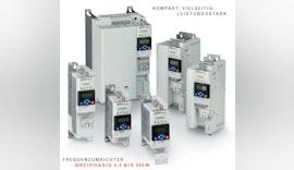 Neue Frequenzumrichter VLB3; KOMPAKT, VIELSEITIG, LEISTUNGSSTARK