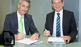 Blumenbecker und KEBA besiegeln partnerschaftliche Zusammenarbeit