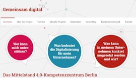 Gemeinsam digital - Kompetenzzentrum Mittelstand 4.0