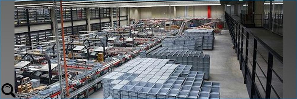 Logistikzentrum als Vorzeigeprojekt