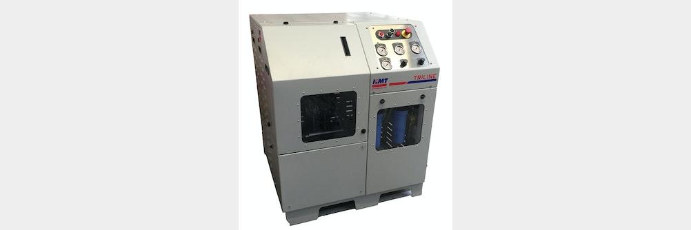 Hochdruckpumpe zum Wasserstrahlschneiden für hohe Effizienz und geringen Platzverbrauch