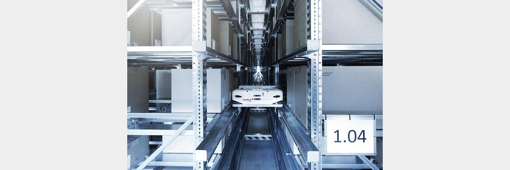 Shuttle-System von viastore sichert Zukunftsfähigkeit