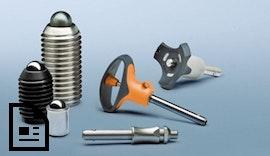 Kugelsperrbolzen und federnde Druckstücke sorgen für höhere Flexibilität und mehr Sicherh