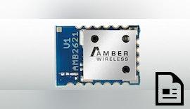 Bluetooth-Smart-Modul AMB2621: neu im Portfolio von AMBER wireless