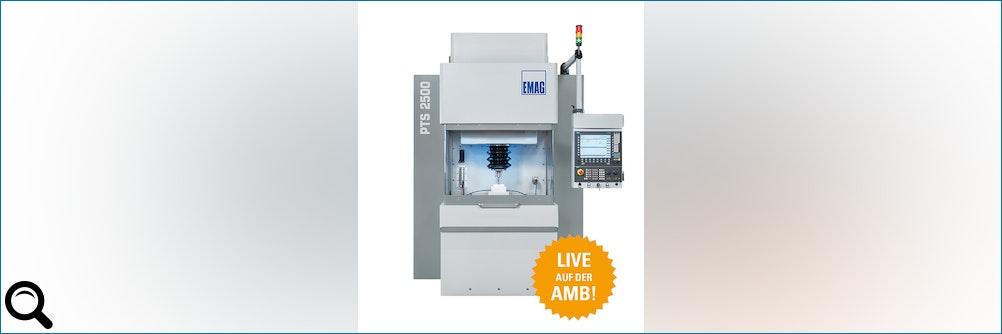 Elektrochemische Metallbearbeitung mit bis zur vier Achsen live auf der AMB!