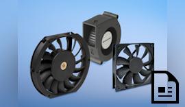 Aktive Kühlung mit Lüftern und Gebläsen von CTX