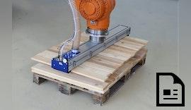 Schmalz auf der Ligna: Vakuumtechnik macht mehr aus der Holzbearbeitung
