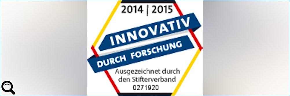PAV erhält Gütesiegel Innovativ durch Forschung