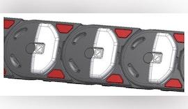 Erweiterung Gleitplatten für Energieketten