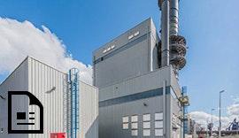 Druckentlastungsklappen für Gas- und Turbinenkraftwerk (GuD) Mittelsbüren in Bremen