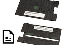 mp-LM Einzelstammadapter passend zum Kennzeichnungsschild