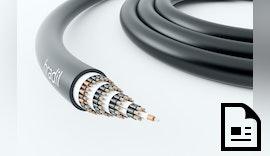 Weltweit erste vierlagige 500V Schleppkettenleitung mit 61 Adern.
