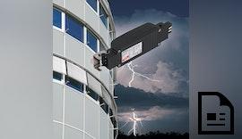 DEHN schützt elektrische Raffstores, Jalousien und Markisen