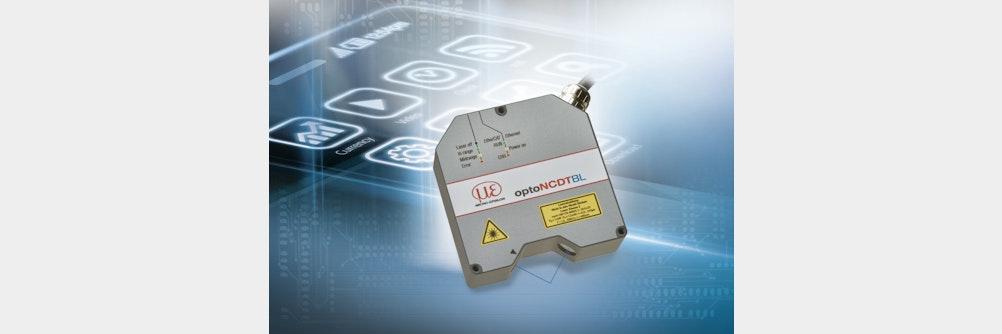 Laser-Sensor optoNCDT 2300-2DR vereint Geschwindigkeit und Präzision