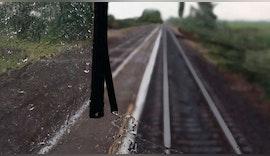 Tempo 160 … starker Regen … prima Sicht …