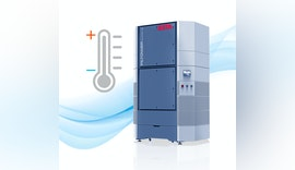Kühl, warm, sauber: Neuer Filterturm temperiert die Hallenluft