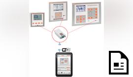 Messgerätedaten mit  Smartphone Überwachen