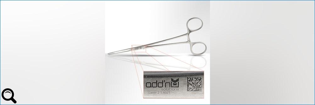 Erste Studie: UDI-Lasermarkierung auf chirurgischen Instrumenten langfristig haltbar
