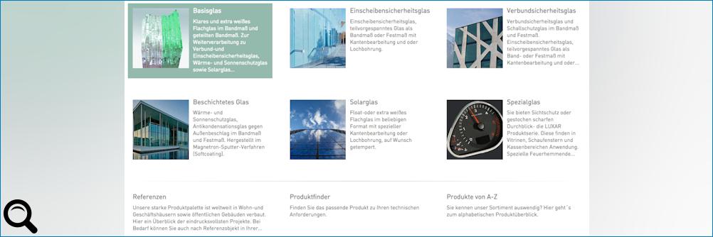 euroglas.com im neuen Look
