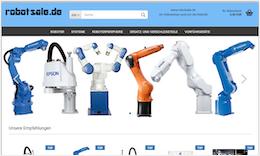 Online-Shop für industrielle Robotik und Zubehör www.robotsale.de