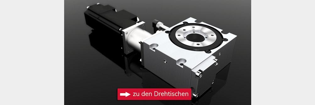 Drehtische für exakte Positionierung ✔️ Kombination mit Positioninersystemen