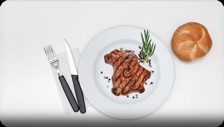 Das perfekte Steak fällt aus der Rolle antriebstechnik