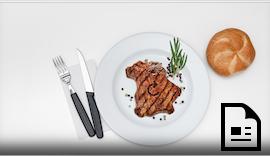 Das perfekte Steak fällt aus der Rolle #antriebstechnik