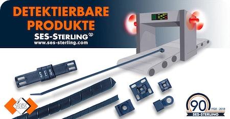 Detektierbares Verdrahtungszubehör: Spiralschlauch, Kennzeichnung, Kabelbinder, Sockel